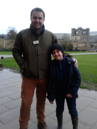 At Chatsworth with Head Gardener, Steve Porter