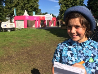 Junior Jounalist for First News at RHS Hampton Court