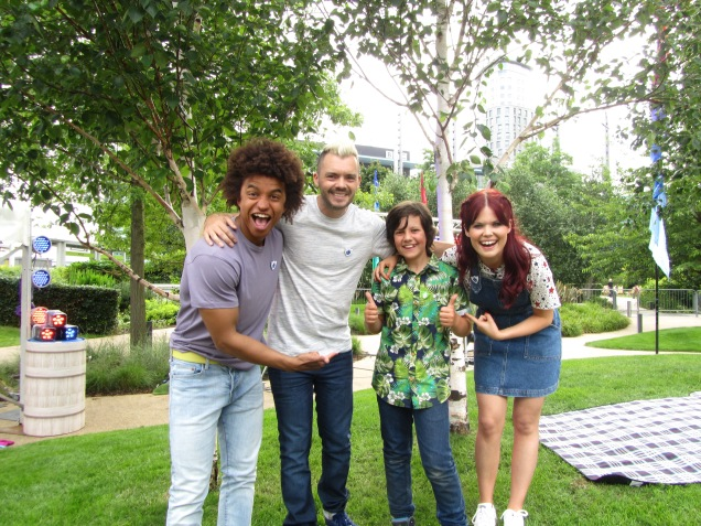 Big Day Filming at The Blue Peter Garden | Green Fingered George