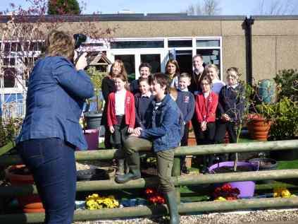 Visiting Chaucer Junior School
