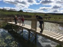 Bridge over to Malc's island